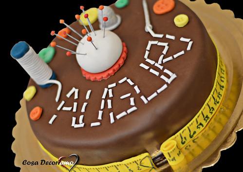 Torte - 86 - Torta Cucito