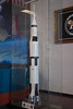 Saturn V display at the LCC