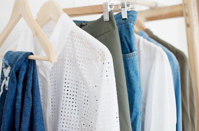 Simple wardrobe palette