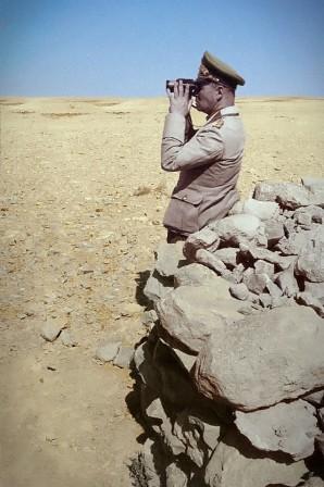 Erwin Rommel en el norte de Africa