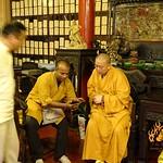 Sun, 19/07/2015 - 18:19 -             Shifu Kanishka invited to meet the Abbot Shi Yongxin