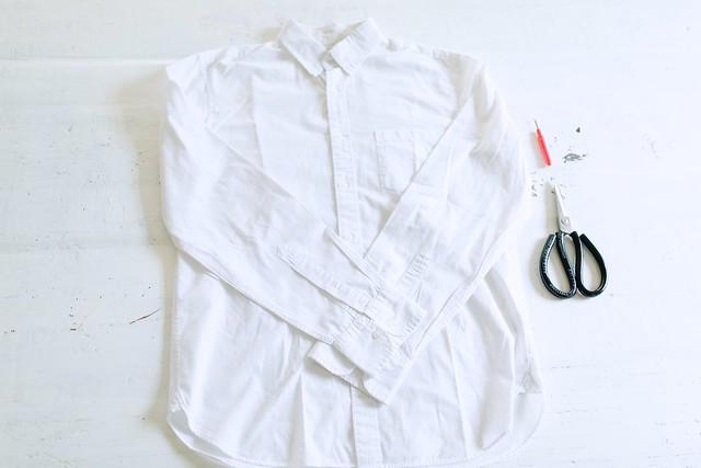 DIY Front Tie Shirt