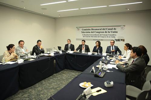 Comisión Bicamaral del Canal del Congreso - 3ª Reunión Extraordinaria del Consejo Consultivo