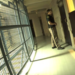 January 13, 2016 - 01:34 - A deputy conducts one of many walk throughs during the night shift to make sure inmates are well.