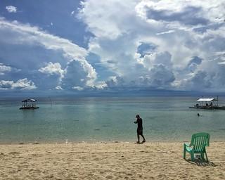 Image of Lambug Beach.