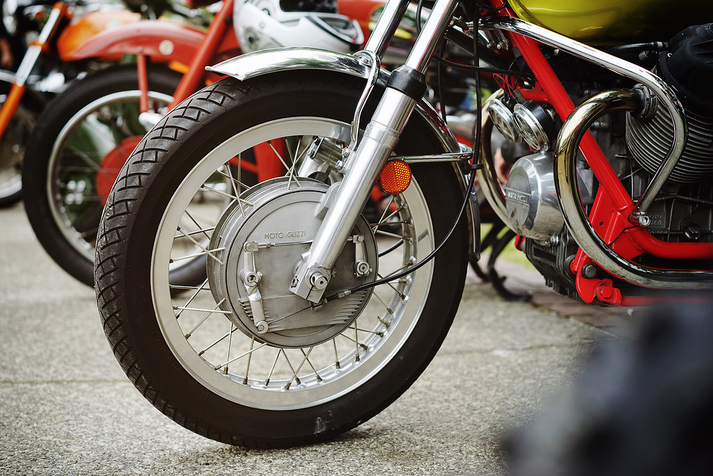 Moto Guzzi in detail