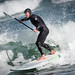 Stand up paddle surfing Sunset Beach Cape Town