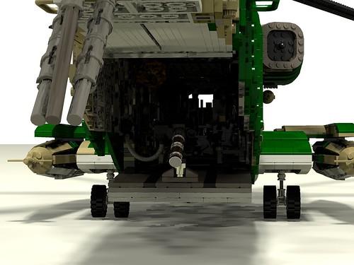 HH-53C Super Jolly Green Giant rear ramp