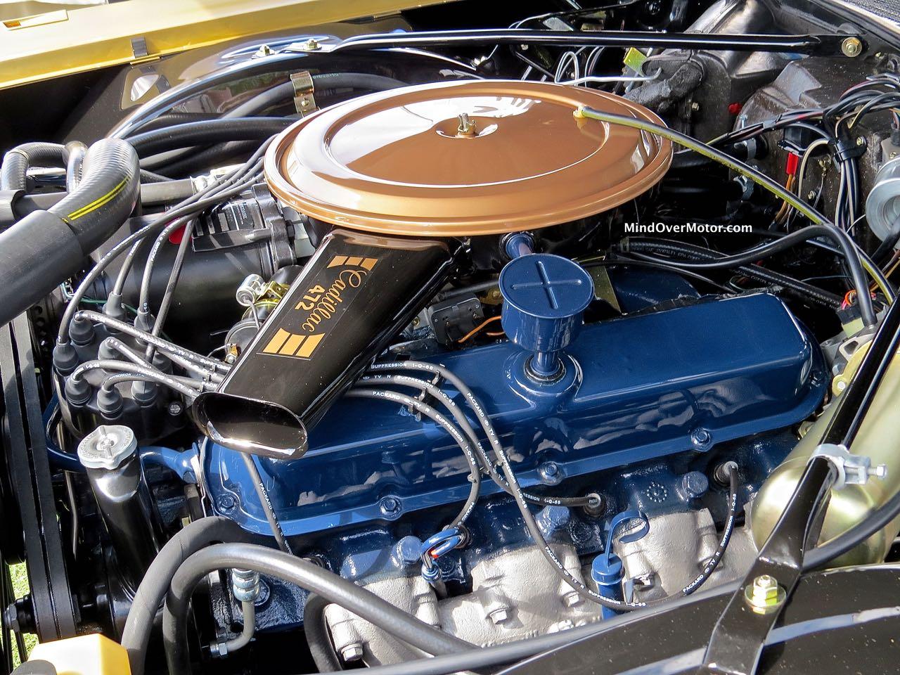 1968 Cadillac Eldorado Engine