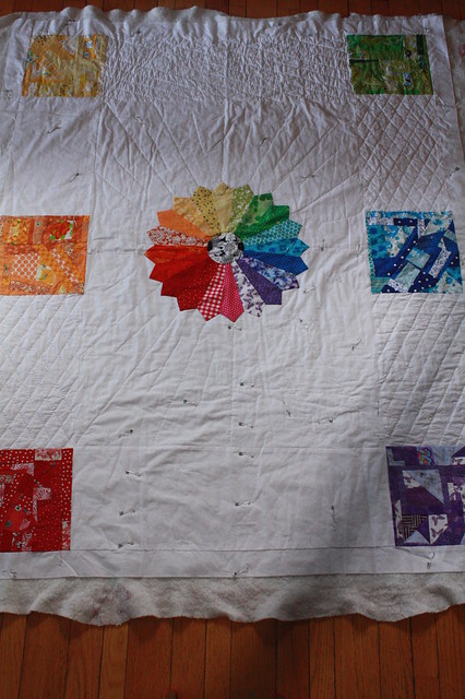 Quilting Progress
