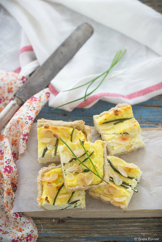 IleanaP.torta salata agli asparagi selvatici
