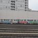 Grafitti Covered CTA Train in the Howard Yard by Zol87