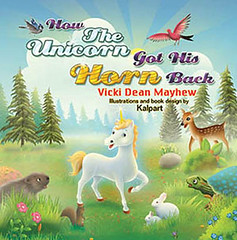 Unicorn_horn magic_pond_fairy_illustrations_kalpart_MayhewFB