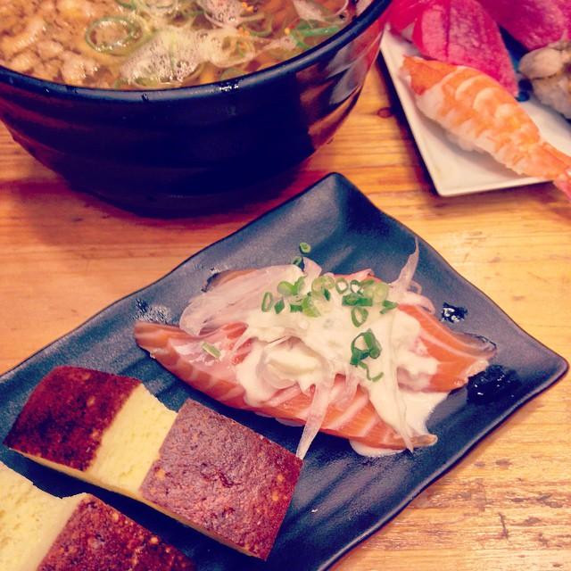 오랜만에 초밥!! #Food #Dinner #Sushi