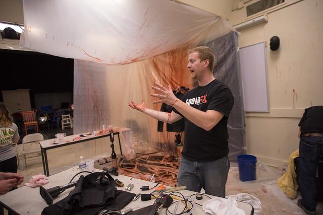 Steve Tolin hosts blood workshop