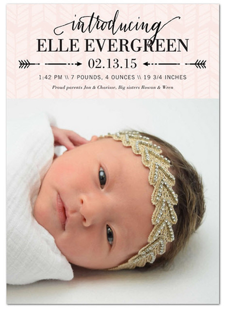 Elle's Birth Announcement