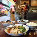 DU00108--台灣小吃--台北市中華路南機場夜市--蒸臭豆腐--復古餐具
