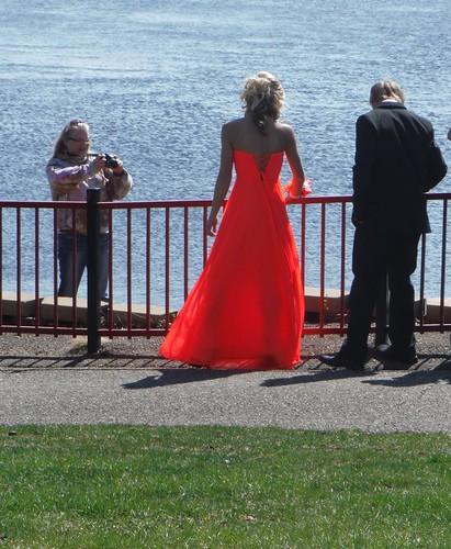 Flourescent Orange bride