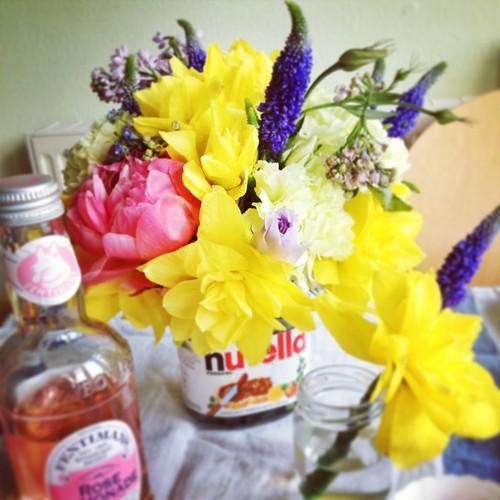 Instagrammed Spring Flowers