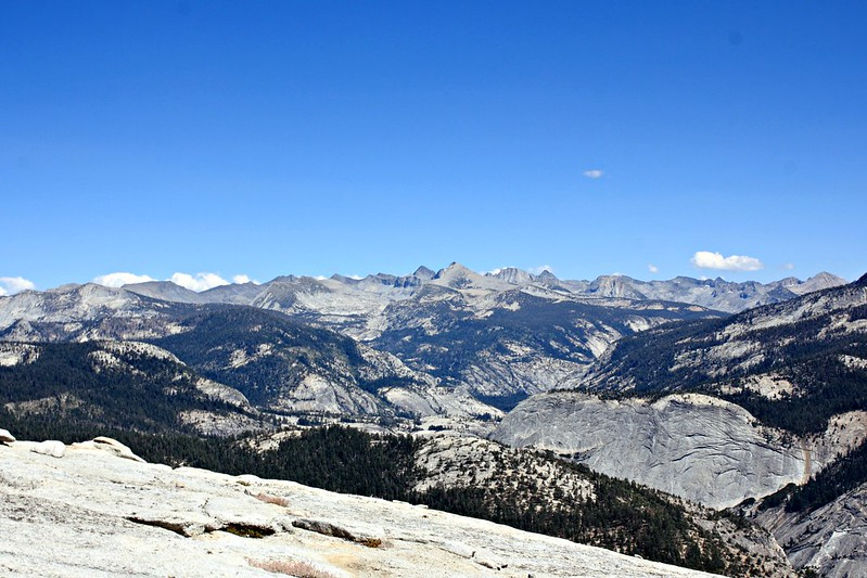 View from Half Dome, Yosemite