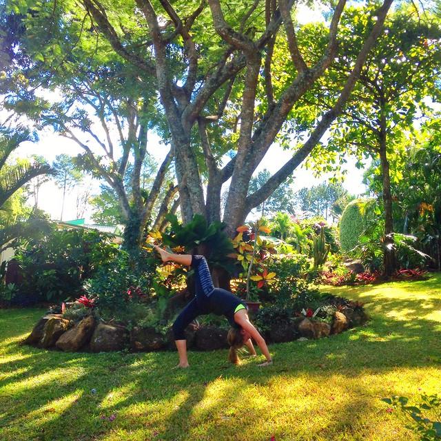 Yoga at Hotel Rosa de America Garden