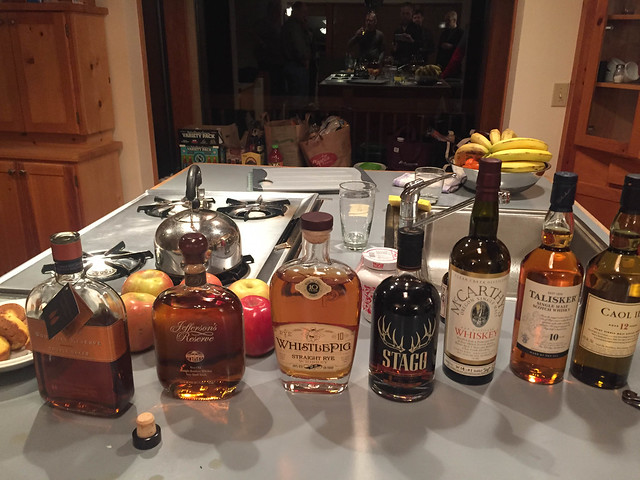 Sunday night Whisk(e)y tasting