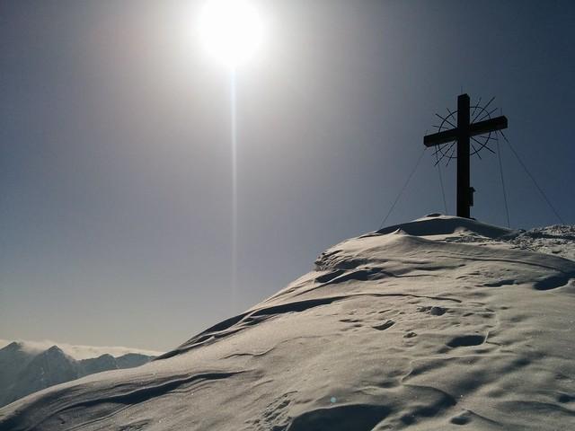 Gipfelkreuz Öfenspitze 2.334 m, Kartitsch in Osttirol