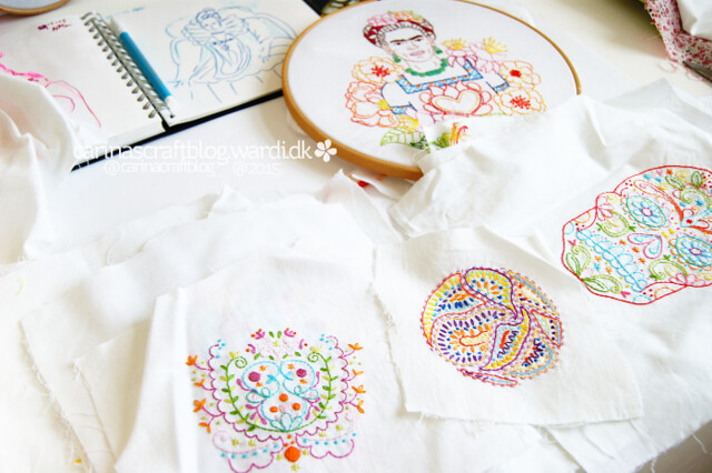 Embroideries new and old...