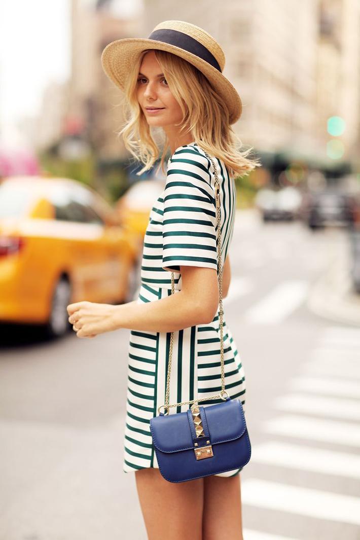 Stripes Navy Style Inspiration Streetstyle11