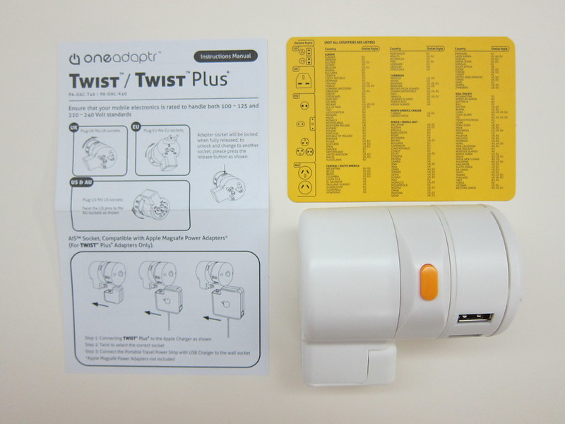 Twist Plus Word Charging Station - Box Contents