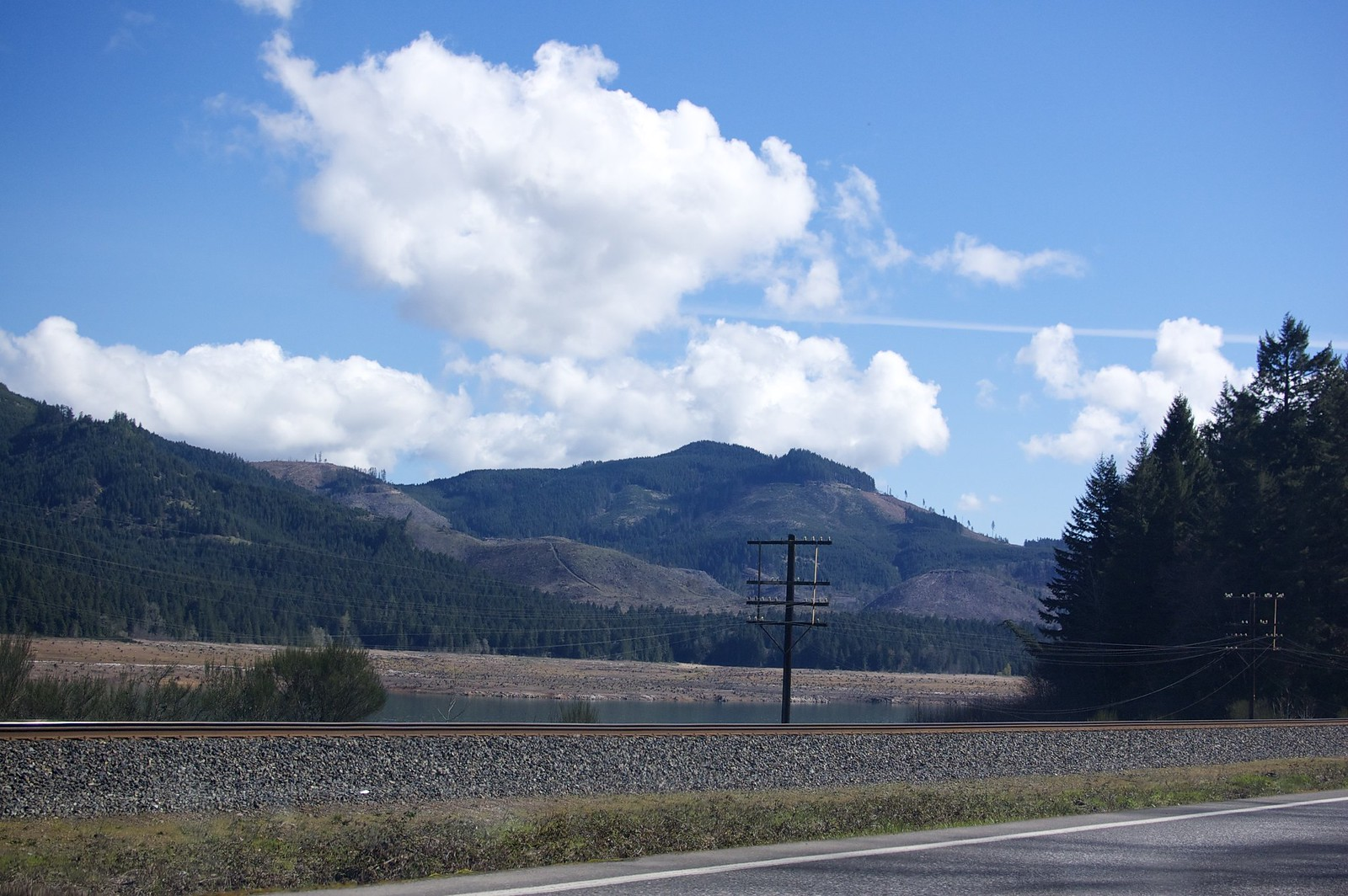Highway 58 - Railroads and Rivers
