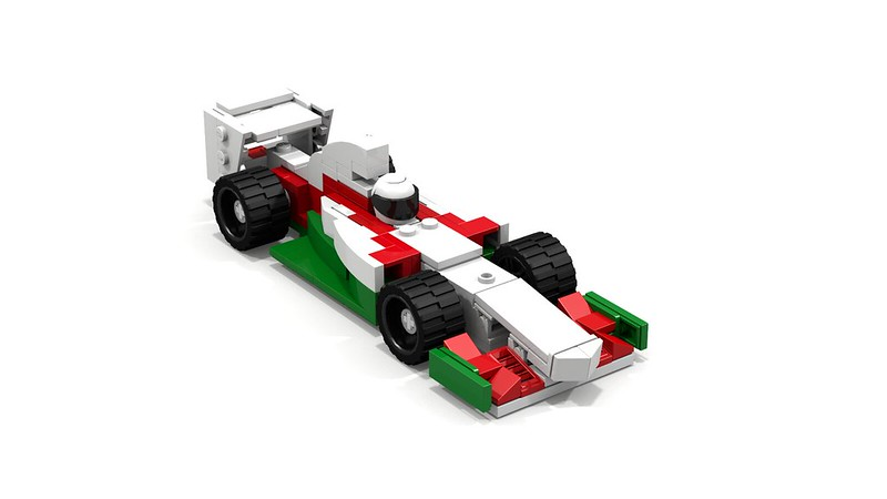 ldd moc octan f1 car lego town eurobricks forums. Black Bedroom Furniture Sets. Home Design Ideas