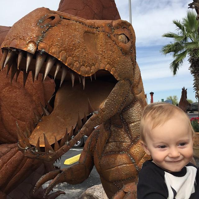 Archers first dinosaur encounter by bartle_man