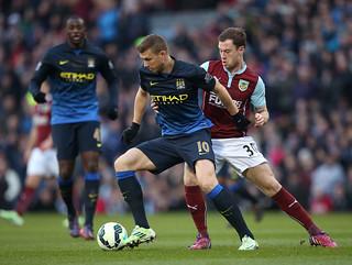 Burnley 1-0 City: Match shots
