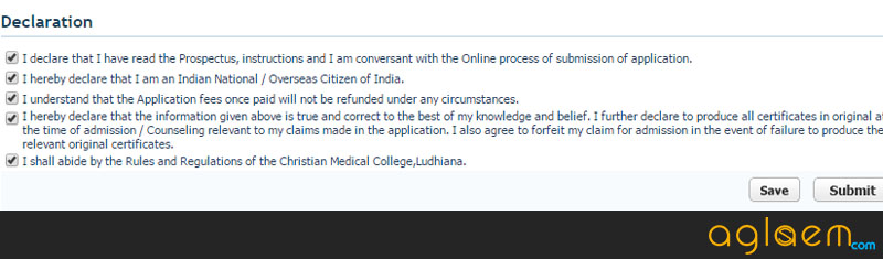 CMC Ludhiana MBBS Application Form 2015