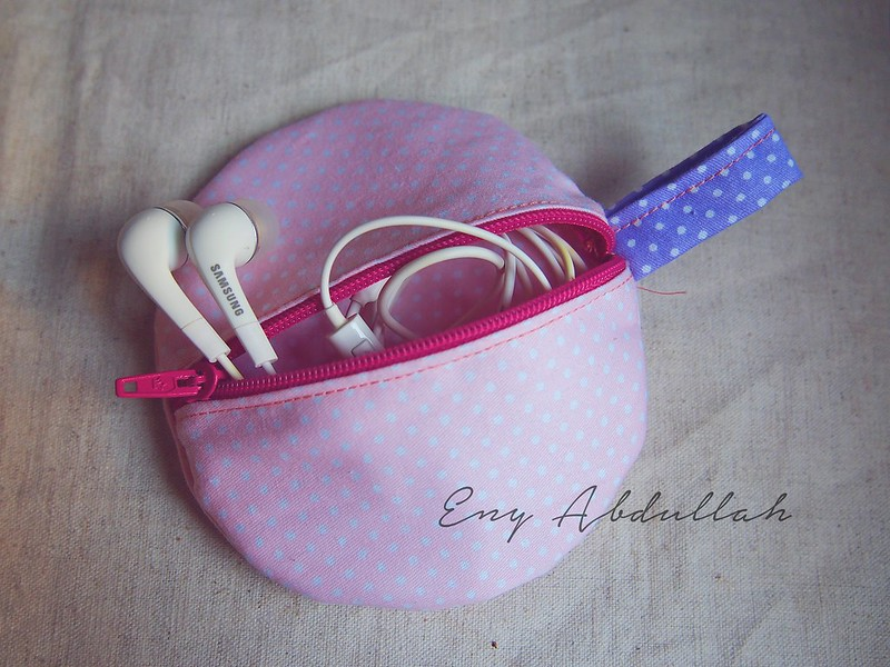 Tutorial Buat Earphone Pouch
