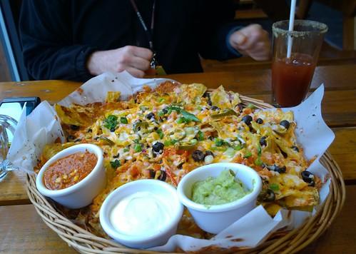Ridiculous amount of nachos