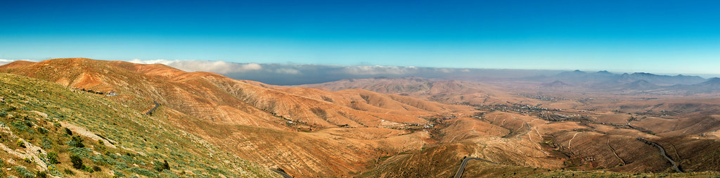 Panorama Mirador de Morro Vilosa Fuerteventura
