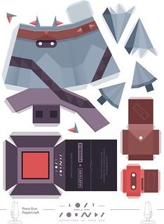 Poco Eco Papercraft A4