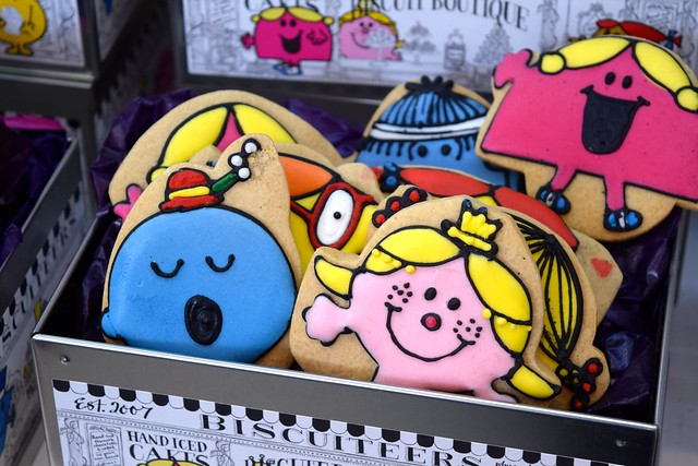 Mr Men Biscuiteers Biscuits