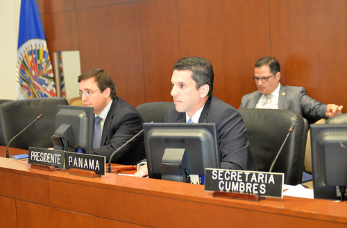 OAS Hosted Fourth Preparatory Meeting for the Summit of the Americas