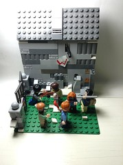 Lego The Walking Dead MOC (not base off of any thing)