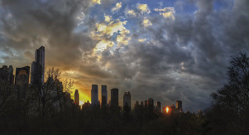nyc newyorkcity sunset ny newyork apple centralpark manhattan sunsetreflection iphone iphone5 iphoneography iphonenography appleiphone5 snapseed