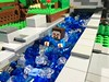 Woodrow Village Minecraft: Steve swims