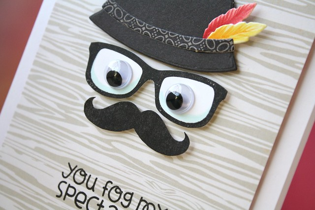 Paper Smooches-Man Hat die & Incognito stamp set