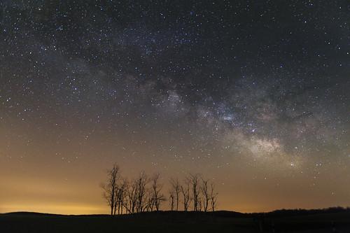 longexposure usa landscape virginia nationalpark unitedstates galaxy shenandoah blueridgemountains bigmeadows skylinedrive milkyway shenandoahnightsky