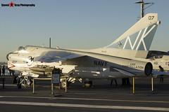 154370 NK-507 - B-010 - US Navy - LTV A-7B Corsair II - USS Midway Museum San Diego, California - 141223 - Steven Gray - IMG_6710