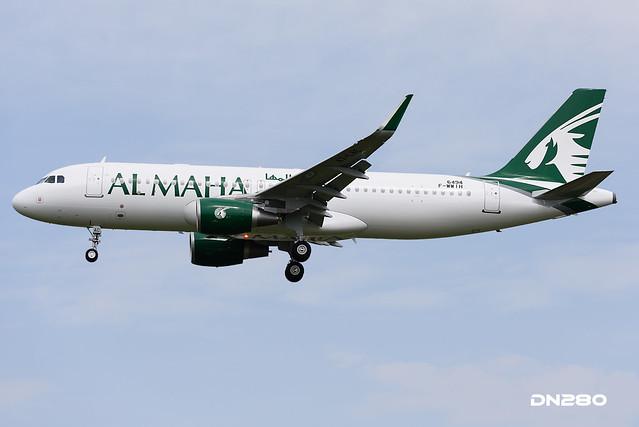 Qatar (Al Maha) A320-214 msn 6494