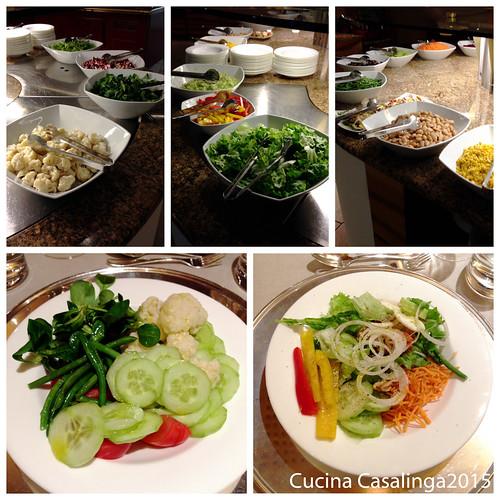 Hohenwart Abendessen 2 Salat