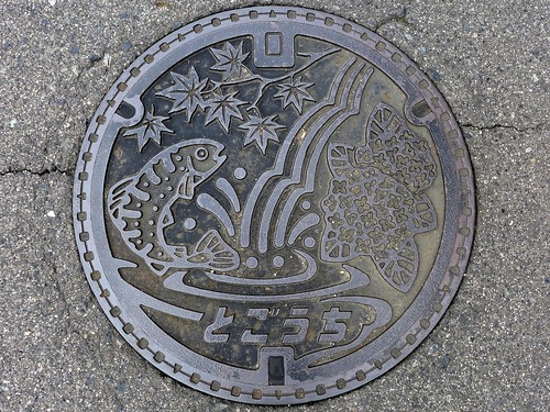 Togouchi Hiroshima, manhole cover (広島県戸河内町のマンホール)